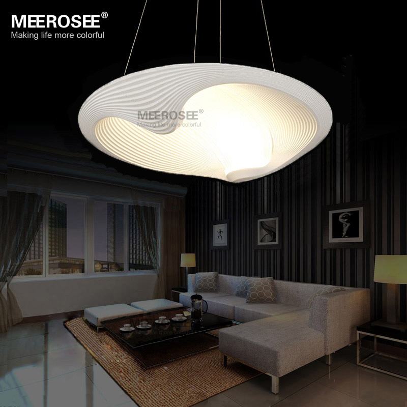 Led pendant light fixture led lustre light fitting shell for Suspension contemporaine