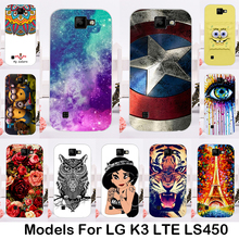 Buy Phone Cases LG K3 LTE LS450 K100 K100DS LS450 4.5 inch Covers shell skin bag Painted SOft TPU housing silicone Phone bags for $1.28 in AliExpress store