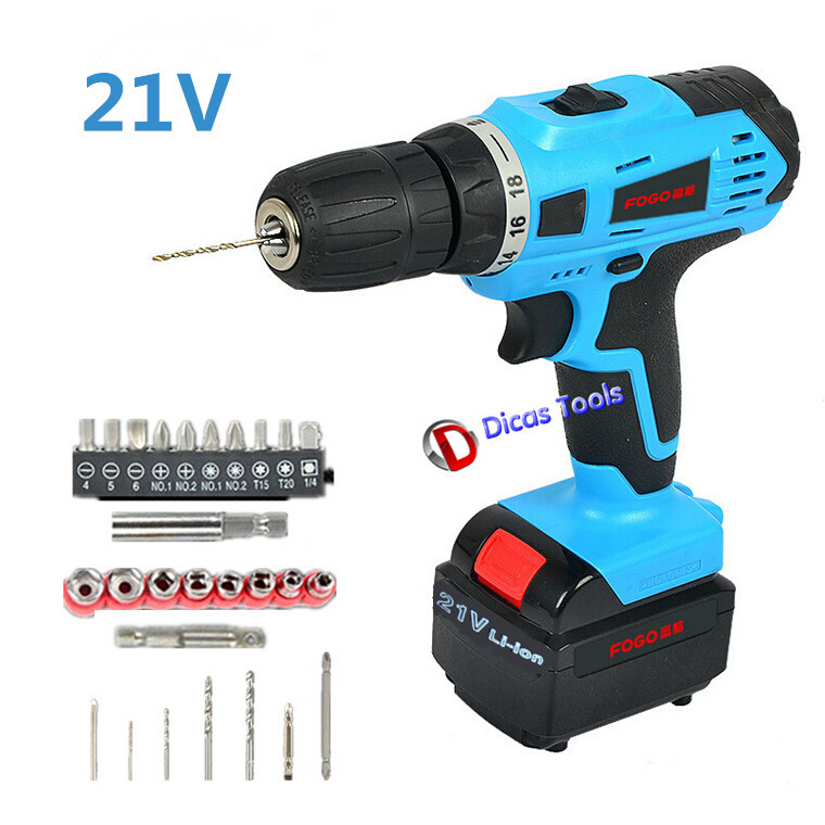 product Household 21v 2*Battery  electric screwdriver multi-function  electric drill tools