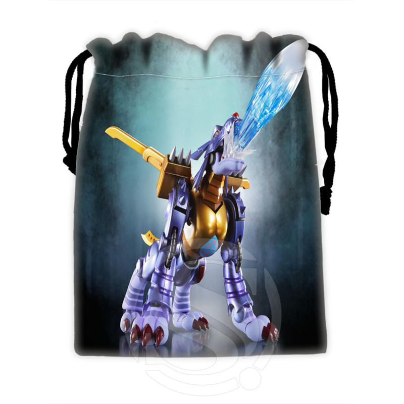 Best Nice Custom Digimon #7 drawstring bags for mobile phone tablet PC packaging Gift Bags18X22cm SQ00715-@H0289(China (Mainland))