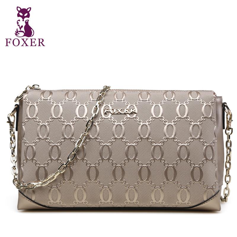 Wolsey 2015 women's handbag quality cowhide messenger bag female fashion chain bag small bags female