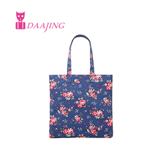 FREE SHIPPING red clock cath cotton canvas book bag paradise bunch cath shopping bag rainbow rose