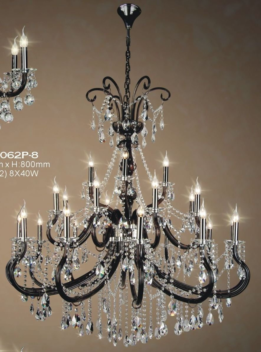 Brown crystal chandeier crystal candle chandeliers Crystal candle chandelier