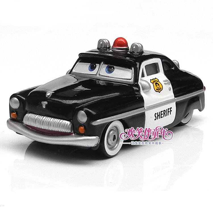 Pixar Cars Sheriff Metal Diecast Toy Car Loose Brand New In Stock & Free Shipping(China (Mainland))