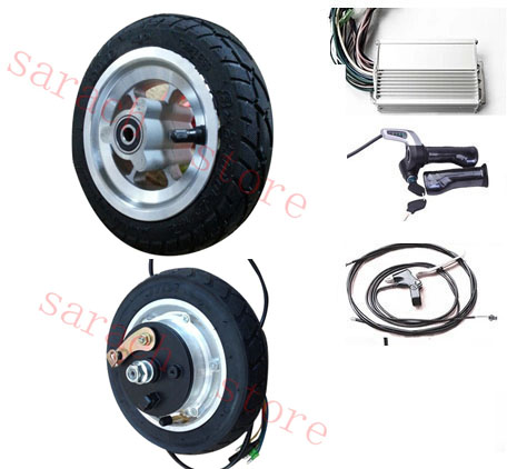 8 400w 24v Drum Brake Electric Scooter Motor Electric