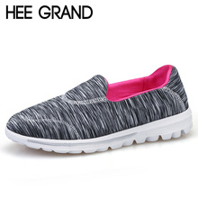 Buy HEE GRAND Comfortable Loafers 2017 Casual Creepers Slip On Shoes Woman Shallow Flats Spring Autumn Women Flat Shoes XWC1032 for $35.98 in AliExpress store