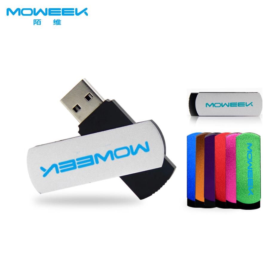 MOWEEK M03 real capacity 4/8/16/32/64 GB usb flash drive Rotate USB 2.0 usb stick computer memory stick flash card pen drive(China (Mainland))
