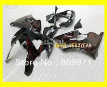 Red flames black Fairing KIT KAWASAKI Ninja ZX-6R 00-02 ZX6R 00 01 02 ZX 6R 2000 2001 2002 Fairings bodywork - Sunrise Motorcycle Co. Ltd store