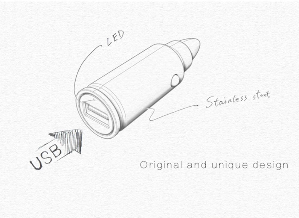 18W 5V 2.4A VOXLINK Bullet Quick Charge 3.0 QC 3.0 Mini