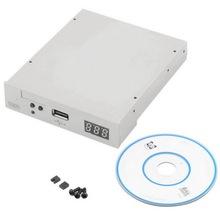 """New 3.5"""" 1000 USB  Floppy Disk Drive emulator Simulation 1.44MB Roland Keyboard white Wholesale(China (Mainland))"""