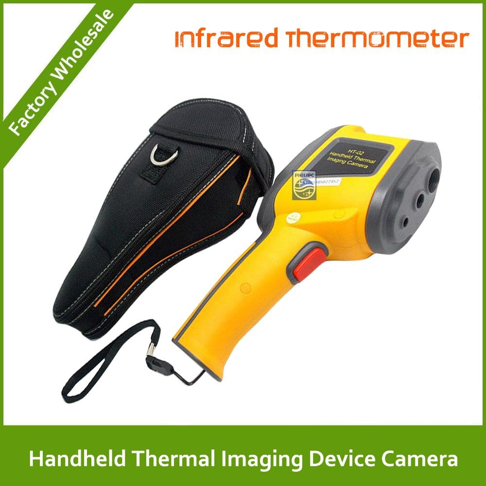 DHL Free shipping Infrared thermometer IR Thermometer LCD digital display -20~300 degree Handheld Thermal Imaging Device Camera(China (Mainland))