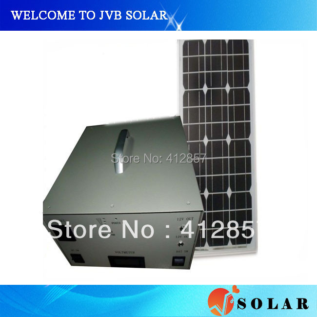 Promotion 40w solar system projects for electric generator including panels 40w controller 10A inverter 150w(China (Mainland))