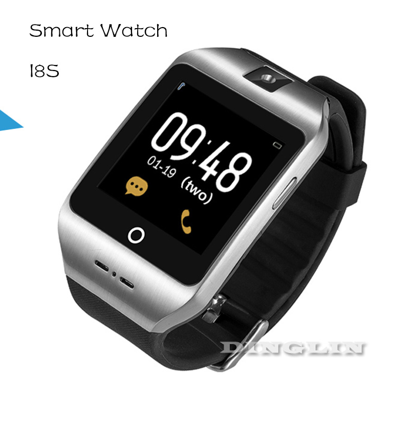 2016 New Smart Watch I8S Wearable Devices Health Monitor NFC Bluetooth Smartwatch GSM SIM Card For IOS Android Smartphone WT8003(China (Mainland))