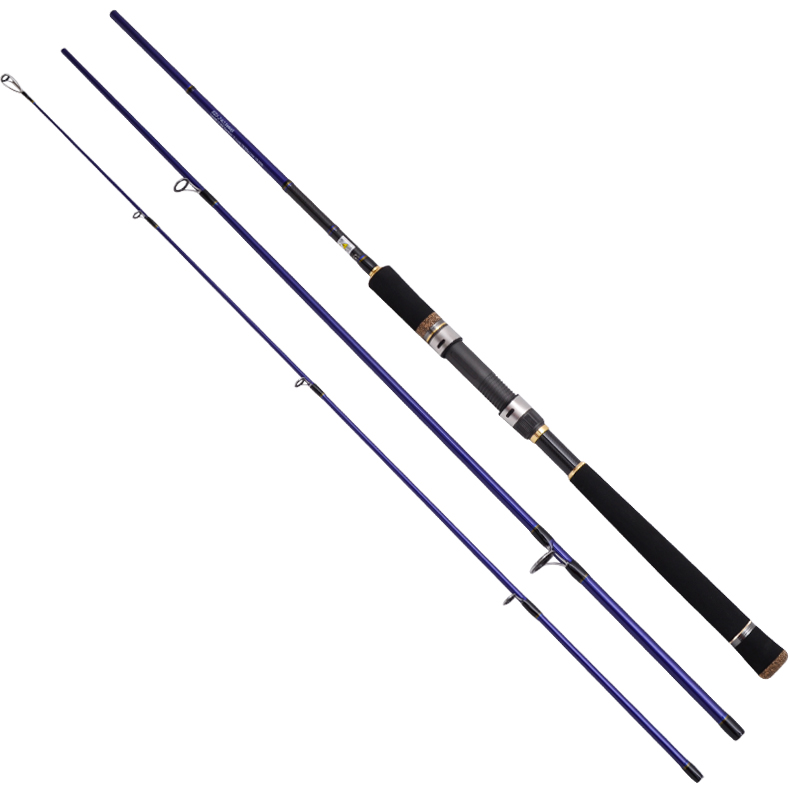 Eurocor sea bass fishing rods mh action fuji components 8 for Bass fishing rod