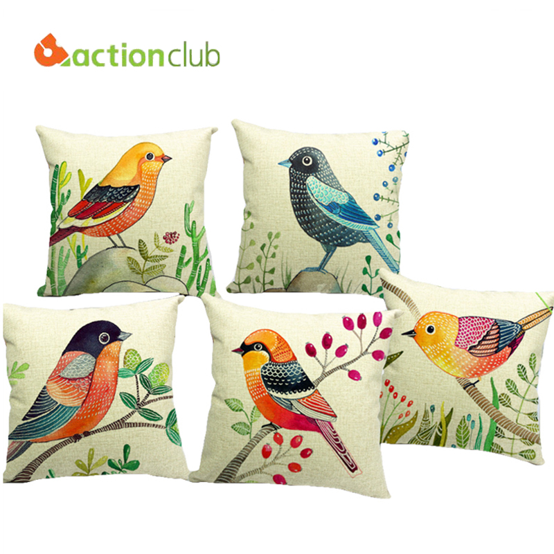 Buy Actionclub Fashion European Owl Cushion Pillows Home Decorative Throw New 2016 Funda Cojines ...