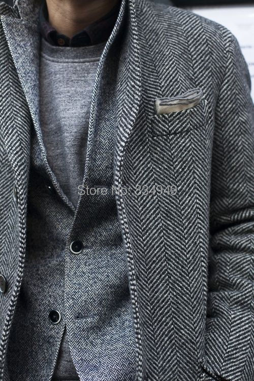 Online Get Cheap Tweed Jacket for Men -Aliexpress.com | Alibaba Group
