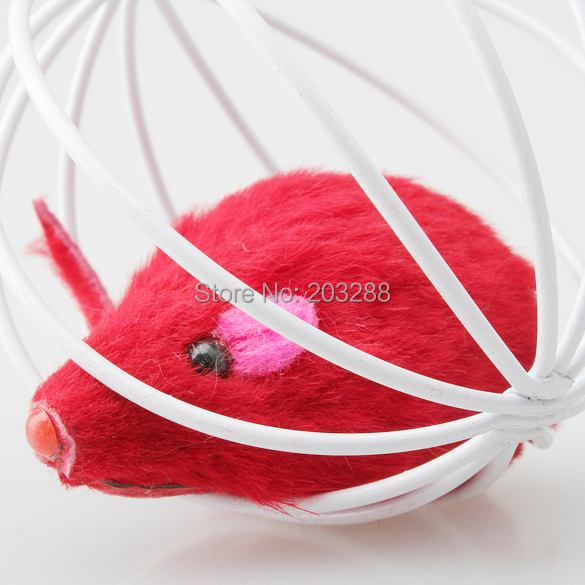 Free Shipping Pet Cat Lovely Kitten Gift Funny Play Toys Mouse Ball Best Gift Brand New
