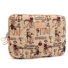 Newest Lady Laptop Sleeve Case 10,11,12,13,14,15 inch Computer Bag, Notebook,For ipad,Tablet, For MacBook,Free Drop Shipping.(China (Mainland))