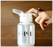 Portable 200ml Travel Cosmetics Bottle Nail Art Polish Cleaner Remover Refillable Bottles Portable Dispenser Pump Tool(China (Mainland))