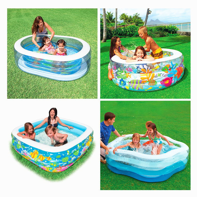 High Quality Baby Swimming Pool Inflatable Pool Home Garden Family Swimming Pool Children Water Game Playing Adult Baby Pool C01(China (Mainland))