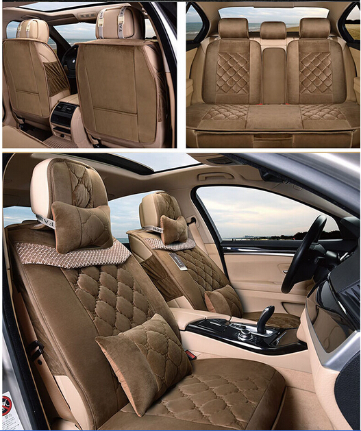 High quality &amp; Free shipping! Winter car seat covers for KIA Sorento 5seats 2015 fashion antifreeze seat covers for Sorento 2016<br>