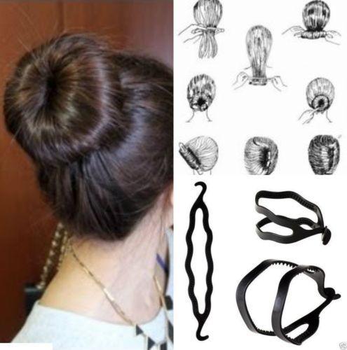 Fashion Hair Twist Styling Clip Stick Bun Maker Braid Tool Hair Accessories(China (Mainland))