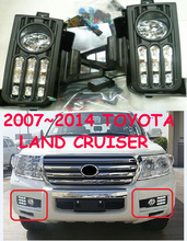 2008~2014 Land Cruiser daytime light,LC200,SUV,Free ship!LED,cruiser fog light,2ps/set,FJ,Prado light,FJ120,LC120 - NoBonn Autoparts Co;Ltd store