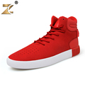 Z 2017 Famous High vamp Red Men Casual Shoes European Style Walking Fashion Outdoor Breathable Lace