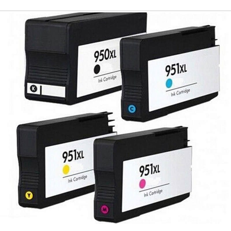 1 full set compatible hp hp 950 xl hp 951 xl ink cartridges for 950xl 951xl hp officejet pro. Black Bedroom Furniture Sets. Home Design Ideas