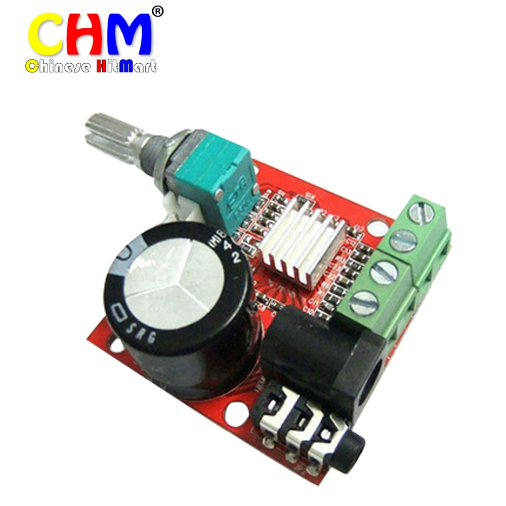 small digital audio amplifier 12 volt board 10w 10w two channel pc power amp class d stereo. Black Bedroom Furniture Sets. Home Design Ideas