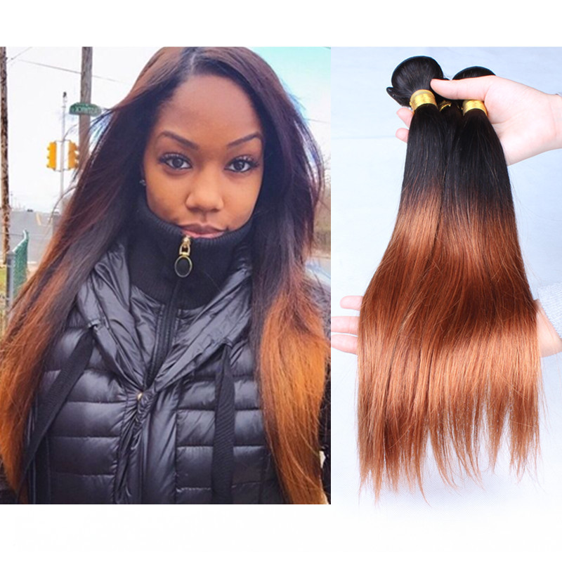 Ombre Hair Weave Extensions 41