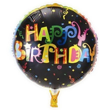 Бесплатная доставка 18 дюймов круглый воздушный шар дня рождения на день рождения ну вечеринку украшения шар оптовая продажа детские игрушки