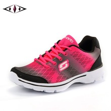 2016 New Gradually Changing Color Women Running Shoes Spring Summer Breathable Shoes Outdoor Sport Sneaker For Women 1677-1(China (Mainland))