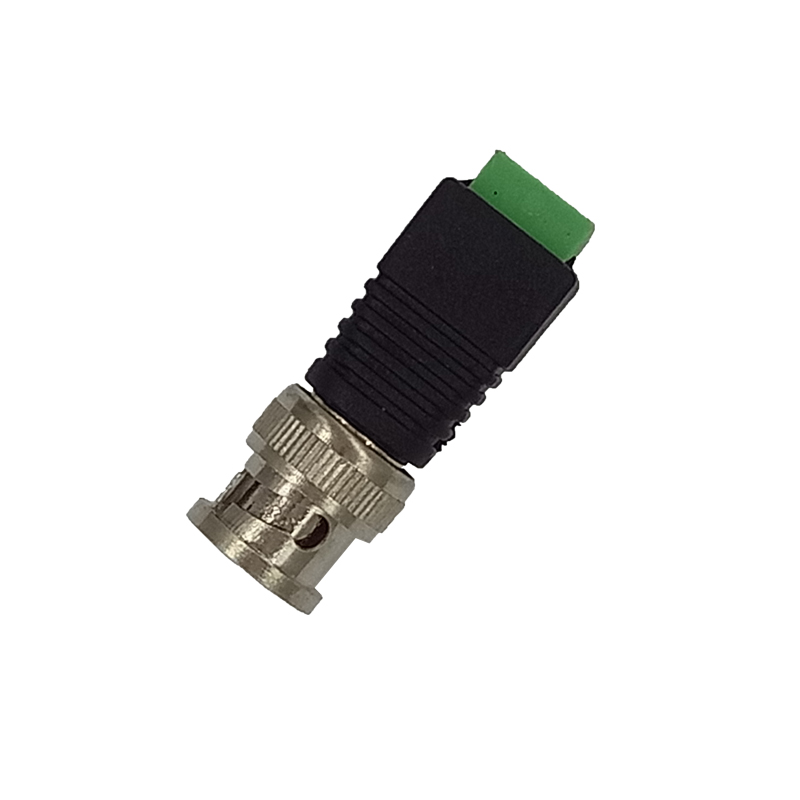 20Pcs/lot Mini Coax CAT5 To Camera CCTV BNC UTP Video Balun Connector Adapter BNC Plug Accessories For CCTV System Free Shipping(China (Mainland))