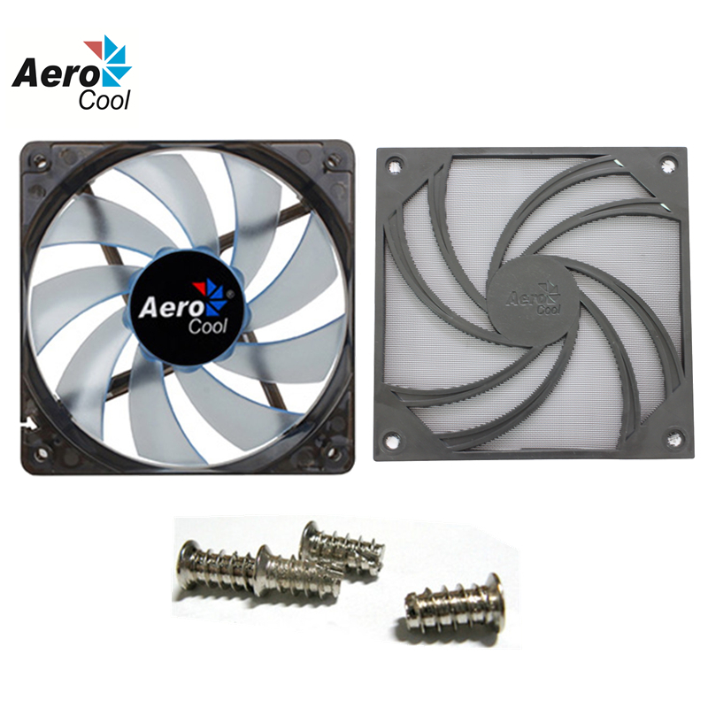 Wholesale Aerocool PC Case Cooling Fan 120mm With Fan Dust Filter / Net Washable / Fan Dust Cover Simple Version(China (Mainland))