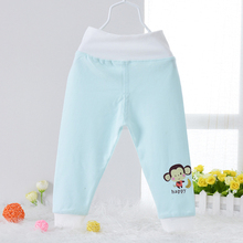 12M-3T baby cotton pants high waist care belly winter&autumn warm pijama trousers kids bebe children clothes top quality(China (Mainland))