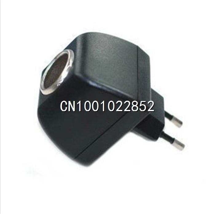 Domestic car cigarette lighter plug / power converter 220 12V household vehicle power supply socket car charger(China (Mainland))