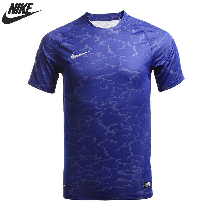 Original New Arrival 2016 NIKE FOOTBALL Men's T-shirts short sleeve Sportswear free shipping(China (Mainland))