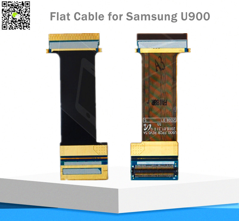 3 pcs New Flex Cable for Samsung U900 Phone Flex Cable/Ribbon flat cable connector for mainboard(China (Mainland))