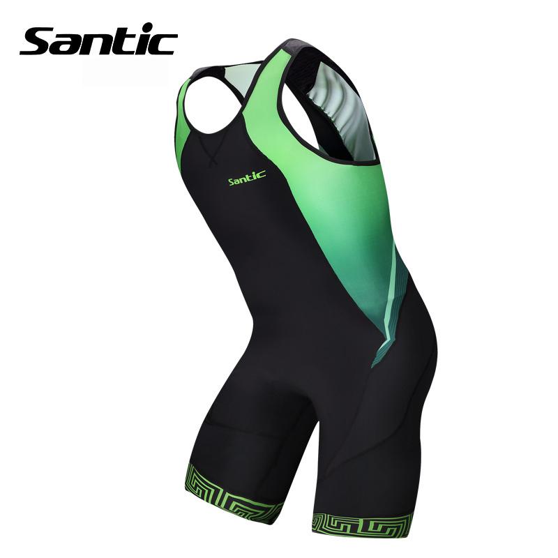 2015 New Santic Triathlon Clothing Elastic Cycling Jersey Tight Suit Cycling Swimming Mens Triathlon Sleeveless Jersey M5C03006V<br><br>Aliexpress