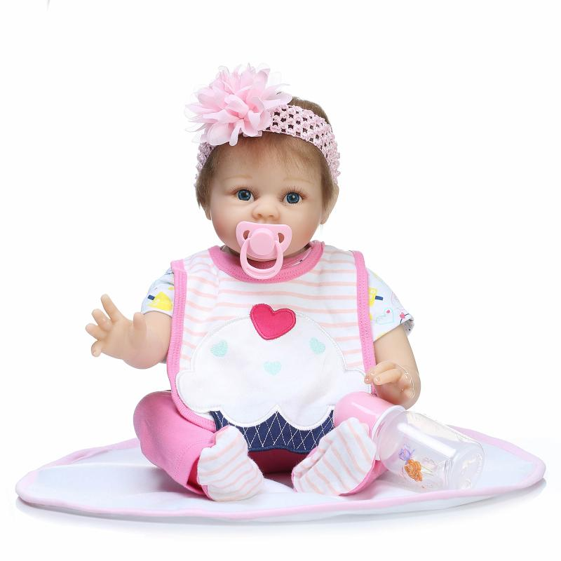 ⑦20 Inch Real Looking Silicone Reborn Reborn Baby Doll