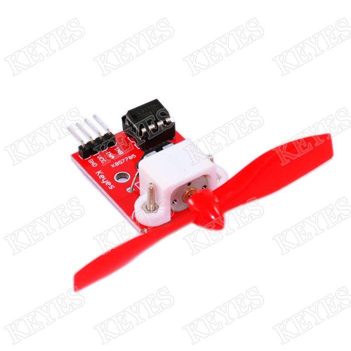 Free shipping 10PCS/LOT L9110 Fan Module for Arduino Robot Design and Development Control(China (Mainland))