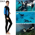 OXA High Elastic Nylon Lycra Men Wetsuit long sleeve Anti UV Wetsuits one piece scuba diving