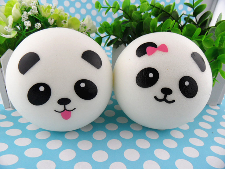 Squishy Jumbo Panda 10 Cm : Buy 10CM Kawaii Jumbo Panda Couple Squishy Cell Phone Charm/Bag Charm/Phone Straps/Bag Pendant ...