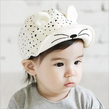 2016 Adjustable Cap Baby Factory Direct Sales Of Spring And Summer Fashion Navy Cap Flat Hat Baby For Peaked 4