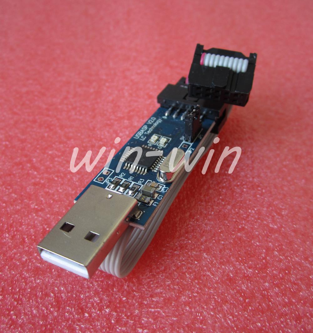 1pcs USB ISP Programmer for ATMEL AVR ( 51 ATMega ATTiny )(China (Mainland))