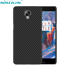 OnePlus 3 Cover A3000 5.5'' A3010 3T Case NILLKIN Luxury Synthetic Fiber Back Mobile Phone Cases - Sor E-commerce store