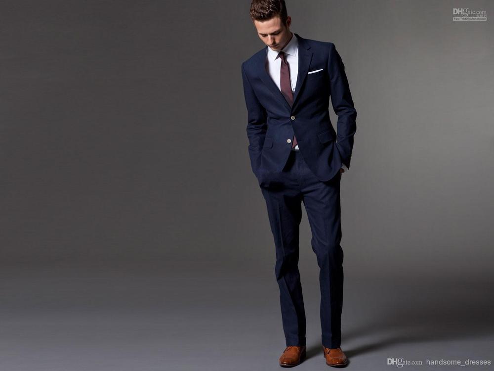 Mens Blue Suit Wedding Blue Men Wedding Suit
