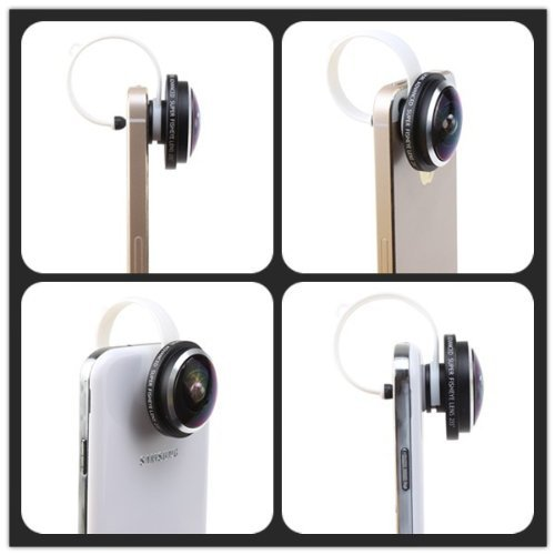 Free shipping 1pcs Universal Clip 235 degree Super Camera Fisheye Lens for iPhone/ HTC /Sony/Samsung/LG/tablet Pc CL-36