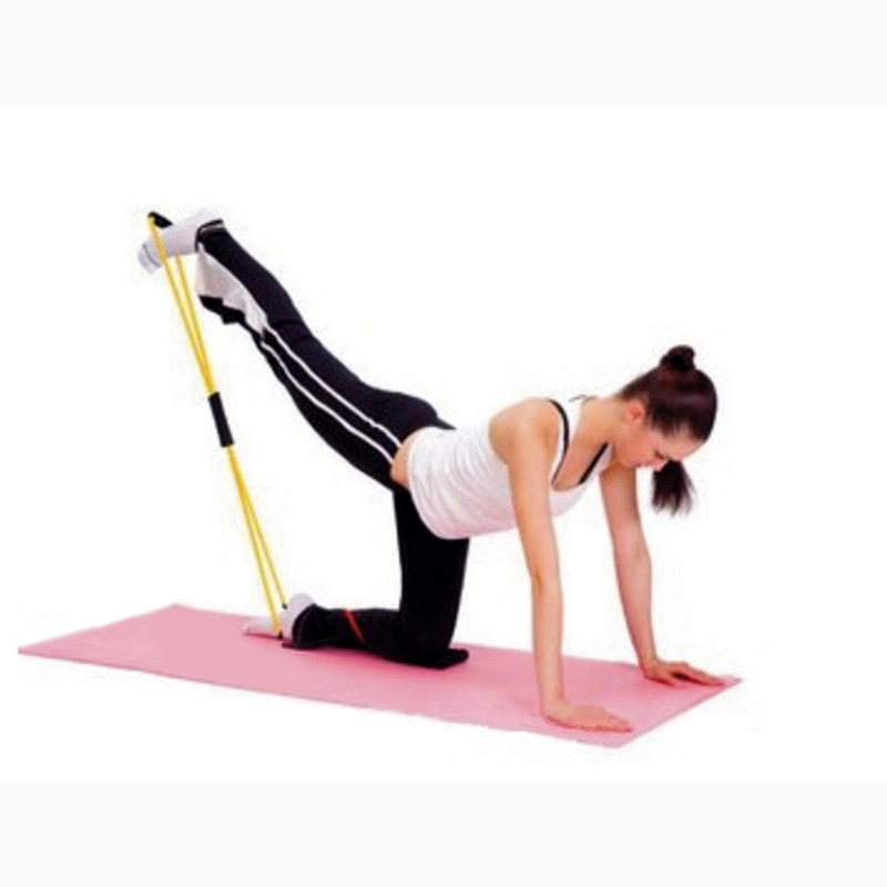 Professional Resistance Band Tube Workout Exercise Fitness For Yoga Pilates